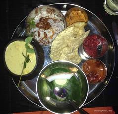 Jackfruit Curry - Lords Restaurant Negombo Sri Lanka (WanderingPhotosPJB) Tags: food restaurant rice curry srilanka lords jackfruit negombo poppadoms srilankancurry lordsrestaurant jackfruitcurry lordscomplex