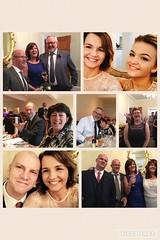 Family collage (reds on tour) Tags: scotland kinlochard altskeith