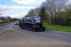 IMGP0096 (Steve Guess) Tags: uk blue england bus museum cub surrey gb cobham weybridge leyland harrington brooklands byfleet