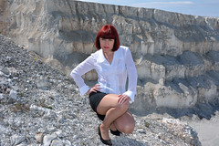 DCS_9885 (dmitriy1968) Tags: portrait cliff nature girl beautiful erotic outdoor wife quarry    sexsual