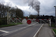 IMGP9889 (Steve Guess) Tags: uk england usa train kent crossing tank railway loco steam level gb locomotive bodiam eastsussex tenterden 30065 060t