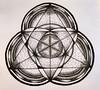 Triangle Mandala (marusaart) Tags: blackandwhite black illustration circle sketch triangle drawing mandala doodle ornament zen marker draw muster copic zeichnung zendala marusaart