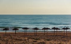 Off Season (fredrik.gattan) Tags: sea seascape beach landscape spain mediterranean parasol torrevieja