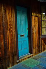The Blue Door (raymondclarkeimages) Tags: door wood blue usa texture architecture photography wooden pattern photographer pentax 36 carpentry rci thebluedoor imageof pictureof k10d picof raymondclarkeimages 8one8studios