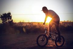 IMG_6424 (dafloct) Tags: chile boy lake man hot byn blanco luz bike sport canon vintage rebel grande bmx san soft afternoon autum y gente negro concepcion bicicleta pedro otoo t5 noon laguna 1855 biobio region suave tarde octava rieles tenue caluroso
