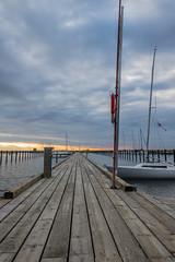 Dock (Infomastern) Tags: sunset sea water malm vatten hav solnedgng limhamn limhamnssmbtshamn