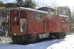 Phoenicia, New York (12 of 24) (Bob McGilvray Jr.) Tags: ny newyork museum train display steel tracks caboose cupola phoenicia empirestaterailroadmuseum