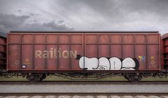 Taps (Herbalizer) Tags: vienna wien train graffiti austria sterreich rail zug db cargo taps tm freight railion gterzug
