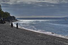 Alki beach (photodesignch) Tags: ocean seattle sea beach water waterfront pentax takumar outdoor super adapter alki alkibeach limited smc pentax67 pentaxfa 4319 7718 10524 sonya7 pentaxfasmc7718limited pentaxfasmc4319limited p645k