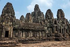 "Angkor Thom  ""Great City"", Siem Reap, Cambodia (takasphoto.com) Tags: trip travel viaje temple asia cambodge cambodia southeastasia king khmer earth transportation viagem siemreap angkor hindu  basrelief bayon indochina angkorthom camboya  travelphotography camboja  kingdomofcambodia siemreab jayavarmanvii     khmerarchitecture    bayn  kingjayavarmanvii theravadabuddhist   mahayanabuddhist  prasatbayon                prehrachanachkkmpcha   krongsiemreap   7"