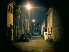 Sometimes You Walk Alone. (david grim) Tags: alley pittsburgh pennsylvania streetphotography pa 9thward lawrenceville ninthward alleghenycounty