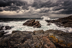 A day by the North Sea (Usstan) Tags: ocean winter sea sky seascape motion cold broken water norway clouds lens landscape norge nikon rocks day waves seasons wind outdoor no sigma d750 westcoast 1224mm locations costal seaspray sunnmre mreogromsdal colorefexpro hery nerlandsy niksoftware nerlandsya
