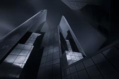 Towers of Gotham (sgsierra) Tags: paris france art blanco architecture monocromo la arquitectura y negro fine gotham francia défense monocrome