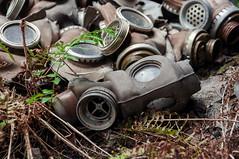 (franconiangirl) Tags: militarybase abandoned derelict gssd redarmy decay gasmasks gasmasken gasmaske ehemalig vergessen forgotten relict coldwar kalterkrieg sowjetisch kaserne remnant urbanexploring naturetakingback farn fern old