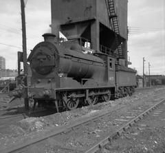 NBR   J37 5F  64597  at Dundee Tay Bridge (62B) coaling stage (rac819) Tags: steam railways britishrailways steamlocomotives uksteam brsteam