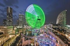 Minato Mirai (spiraldelight) Tags: yokohama minatomirai   eos5dmkii tokina1017f35f45atx107dxfisheye