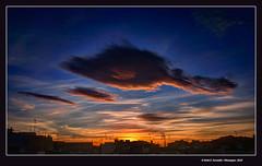 Alba urbana 29 (Urban sunrise 29) (Rafel Ferrandis) Tags: alba hdr nwn balc algemes eos5dmkii ef1635mmf4l