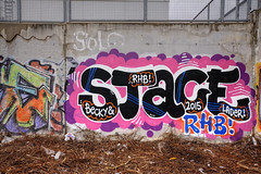 Stace (Coloured City Vienna) Tags: vienna wien wall graffiti austria sterreich wand linie line wiener stace bb trackside linien