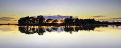 Hatchett Pond (Solent Poster) Tags: new uk sunset forest reflections landscape march pond pentax 2016 hatchett 1685mm