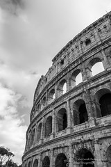 roma-1621 febbraio 2016 (Fabio Gentili Photography) Tags: bw italy rome roma bn coliseum foriimperiali colosseo