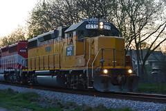 WAMX3895PanWaukeshaWI4-25-16 (railohio) Tags: wisconsin trains waukesha j3 wsor t003 watco gp383 wamx 042516