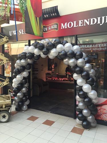 Ballonboog 6m Slagerij Molendijk Akkerhof Spijkenisse
