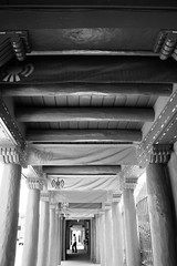 Tunnel Vision (wademcintyre225) Tags: newmexico santafe lines canon symbols pillars carvings