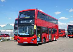 GAL MHV20 - BU16OZB - BV BELVEDERE BUS GARAGE - THUR 28TH APR 2016 (Bexleybus) Tags: new bus london buses ahead volvo garage go egyptian belvedere bv etb mcv goahead evoseti mhv20 bu16ozb