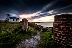 Week 17 - The Watch House (an alternative view) (f22 Digital Imaging) Tags: longexposure sunset seascape landscape northumberland seatonsluice northeastengland 10stop hoyaprond1000 wexmondays2016 wpoty2016