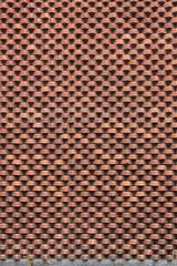 Ladrillos (Vicente Mercado) Tags: street red brick ladrillo texture textura mxico pared calle rojo arquitectura pattern place geometry cement cemento coyoacan lugar arquitecture distritofederal ciudaddemxico patrn geometra wallmuro