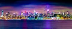 Colorful NYC (^Baobab^) Tags: city nyc newyorkcity longexposure panorama canon cityscape manhattan sony empirestatebuilding newyorkstate libertystatepark nycnight ef200mmf28lii ilce7rm2 sonya7r2 sonya7riiwithefmountlens