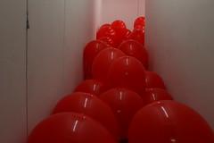 Containment (agent j loves nyc) Tags: nyc newyorkcity art les chinatown lowereastside installation artinstallation 99luftballons redballoons balloonart 99redballoons martincreed balloonroom gavinbrownenterprises ballooninstallation workno2592