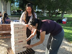 IMG_8211 (Keck Graduate Institute) Tags: sports students fun group lawn pharmacy jenga activities sop sopendofyearbbq042216