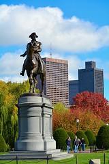 The Prez! (tommyleonard777) Tags: boston georgewashington bostoncommon