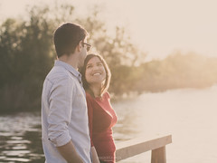 In Love (MigueLemos) Tags: light sunset portrait sun love portugal couple retrato olympus miguelemosphoto