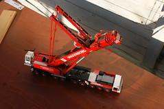 DSC03717 (Wilfred de Groot) Tags: big hobby cranes homemade precious rig heavy beautifull scalemodel heavyduty terex heavylifting wagenborg demag ac700