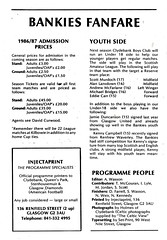 Clydebank vs Celtic - 1986 - Page 16 (The Sky Strikers) Tags: official fine scottish match celtic premier fare league programme the clydebank 50p bankies kilbowie