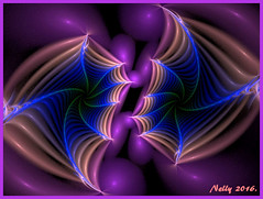 *Purple... (MONKEY50) Tags: blue abstract art digital spiral purple fractal hypothetical musictomyeyes autofocus artdigital shockofthenew flickraward awardtree contactgroups netartii
