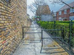 Pathway (Quality Gate 5b) Tags: samsung southlondon vauxhall topazadjust topazdenoise luminancehdr samsungst200f singleframetonemapped