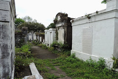 New Orleans -  1867 /  1955 (Drriss & Marrionn) Tags: usa cemetery grave graveyard concrete outdoor neworleans headstone tomb graves funeral mausoleum granite sarcophagus burial marble tombs lafayettecemetery deceased gravefield vaults crypts neworleansla