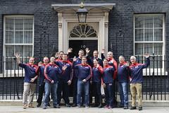 PM meets the UK Invictus Games team (The Prime Minister's Office) Tags: uk london sports pm primeminister 10downingstreet helpforheroes primeministerdavidcameron invictusgames georginacoupe