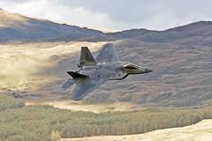 Raptor  F22A USAF (Paul Rowbotham) Tags: stealth f22 usaf machloop f22a