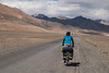 For us - the least challenging part of the Pamir Highway (Michal Pawelczyk) Tags: road trip holiday bike bicycle june nikon asia flickr aim centralasia pamir gosia wakacje 2015 czerwiec azja d80 pamirhighway gbao azjasrodkowa azjacentralna