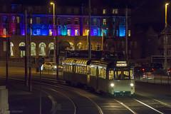 Twin Car 675 685 Gynn Square 28.12.15.DSC_6063 (Blackpool trams dalrigh) Tags: 675 685 blackpooltrams twincar ftschristmastour