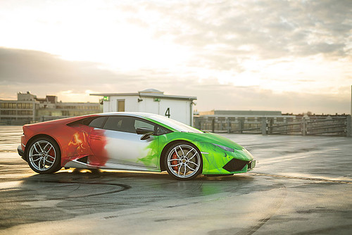 Lamborghini Huracan TriColor