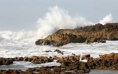 moroccan coast big waves (4) (kexi) Tags: ocean africa white water canon coast march big rocks waves cliffs atlantic morocco shore foam maroc huge splash atlanticocean 2015 maroko instantfave oualidia