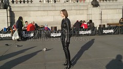 leather pants girl in leather boots jacket and leather gloves 4K (girl leather pants) Tags: girl leather pants boots jacket gloves 소녀 장갑 부츠 바지 가죽 재킷 皮手套的