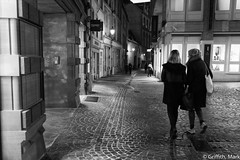 Walking the Old City (Mark Griffith) Tags: bw work amazon amazoncom luxembourg silverefexpro2 sonya7rii 20160121dsc01730edit