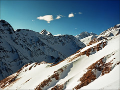 Winter at Courmayeur (Katarina 2353) Tags: winter italy mountain snow alps film canon landscape courmayeur katarinastefanovic katarina2353