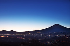 Mt.Fuji Blue Moment. (kota-G) Tags: blue sunset japan dark nikon fuji sundown  bluemoment d4s